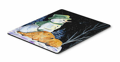 Carolines Treasures  SS8555MP Snowman with Lakeland Terrier Mouse Pad, Hot Pad o