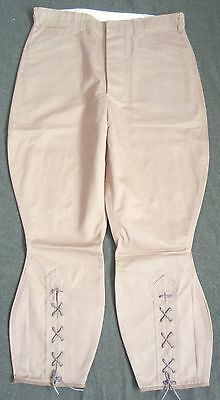 Wwi Us M1912 Cotton Officer Field Breeches- Small