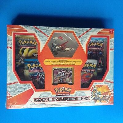 (WHITE KYUREM Figure box) Black & White Packs - Foil Card - Sealed New - Pokemon