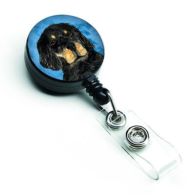 Gordon Setter  Retractable Badge Reel or ID Holder with Clip SS4791