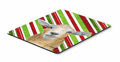 Carolines Treasures  RDR3022MP Candy Cane Goat Christmas Mouse Pad, Hot Pad or T