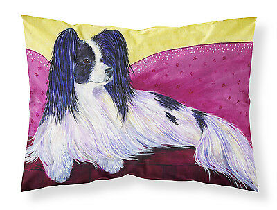 Carolines Treasures  SS8416PILLOWCASE Papillon Moisture wicking Fabric standard