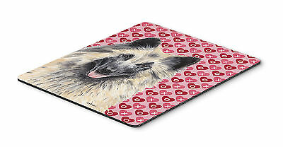 Belgian Tervuren Hearts Love and Valentine's Day Mouse Pad, Hot Pad or Trivet