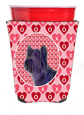 Carolines Treasures  SS4463RSC Skye Terrier  Red Solo Cup Beverage Insulator Hug
