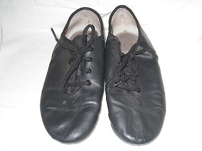 Danskin Jazz Dance Black shoes Womens Lace up sz 5.5