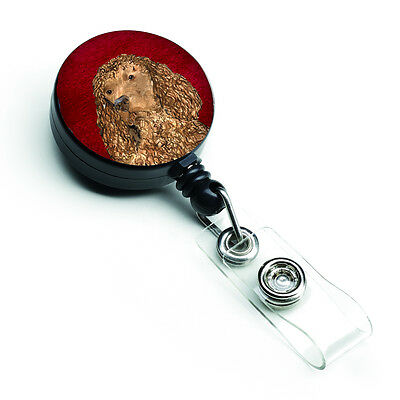 American Water Spaniel Retractable Badge Reel or ID Holder with Clip