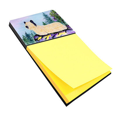 Skye Terrier Refiillable Sticky Note Holder or Postit Note Dispenser