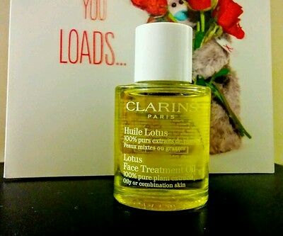 Clarins Orchid/Lotus Face Treatment Oil 30ml WORTH £33 !!