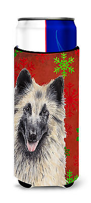 Belgian Tervuren Red and Green Snowflakes Holiday Christmas Ultra Beverage Insul