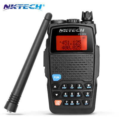 NKTECH UV-5RX Dual Band 3200mAh Batterie Funkgerät Walkie Talkie Two Way Radio