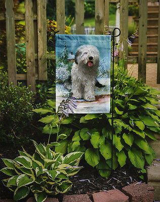 Old English Sheepdog by Don Squires Flag Garden Size