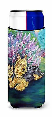 Australian Terrier and Puppy Ultra Beverage Insulators for slim cans