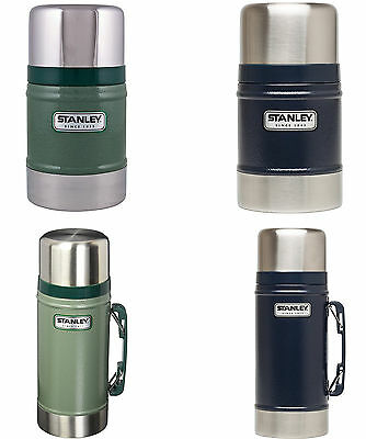 Stanley Classic Vacuum Insulated Food Jar, 2 Sizes, 2 Colors