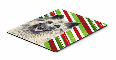 Belgian Tervuren Candy Cane Holiday Christmas Mouse Pad, Hot Pad or Trivet