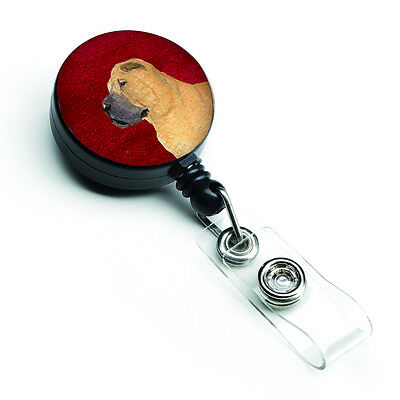 Carolines Treasures  SS6044BR Shar Pei Retractable Badge Reel or ID Holder with