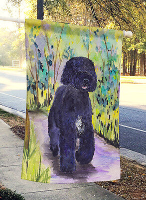 Carolines Treasures  SS8264CHF Portuguese Water Dog Flag Canvas House Size