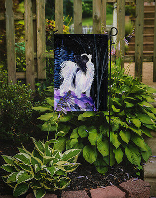Carolines Treasures  SS8383GF Starry Night Papillon Flag Garden Size