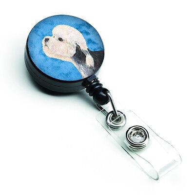 Dandie Dinmont Terrier  Retractable Badge Reel or ID Holder with Clip SS4779