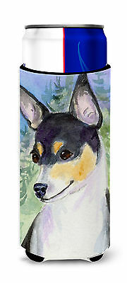 Rat Terrier Ultra Beverage Insulators for slim cans
