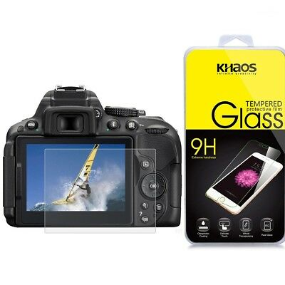 KHAOS Ballistic Glass Screen Protector For Nikon D5300 D5500 D5600