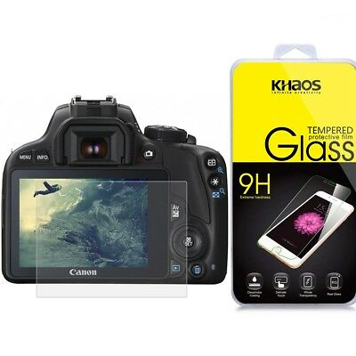KHAOS Ballistic Tempered Glass Screen Protector For Canon EOS M3 / M5 / M10