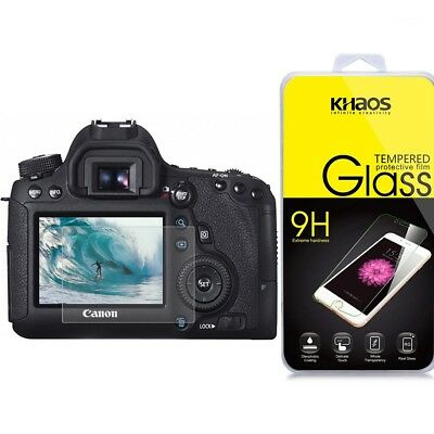 Ballistic Glass Screen Protector For Canon EOS T6i(750D) /T6s(760D) /7D Mark II