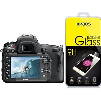 KHAOS Ballistic Glass Screen Protector For Nikon D500 /D600 /D610 /D7100 /D7200