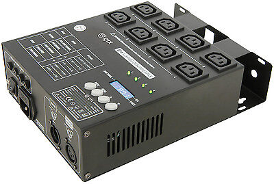 Qtx Dp4 4 Channel Dimmer / Relay Lighting Control Pack - New & 24Hr Post