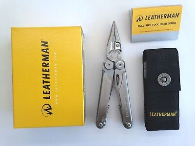 Leatherman Wave Plus + 2018 Multi Tool Knife Multitool + Nylon Sheath Free Post
