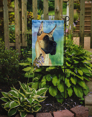 Carolines Treasures  7387GF Great Dane Apollo the Great Flag Garden Size