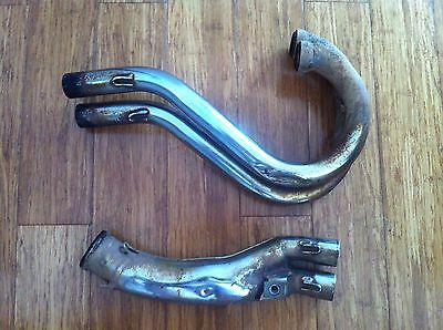 Used KTM SX EXC exhaust header pipes RFS 2000-2003