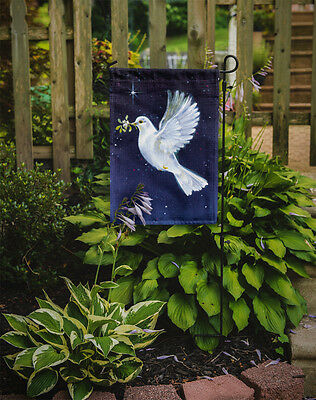 Carolines Treasures  AAH1624GF Peace Dove with the Olive Branch Flag Garden Size
