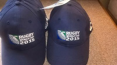 10 X RUGBY ENGLAND 2015 WORLD CUP Canterbury 2015 Baseball Cap Navy
