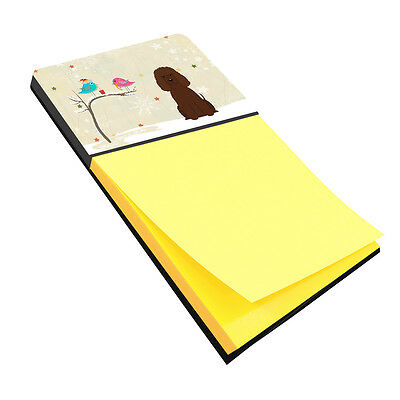 Christmas Presents between Friends Irish Water Spaniel Sticky Note Holder
