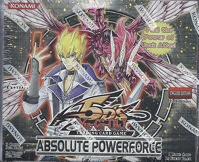 Yu-Gi-Oh! Absolute Powerforce Sealed Unlimited Edition Booster Box