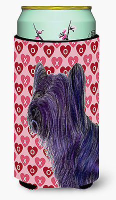 Skye Terrier Hearts Love and Valentine's Day Portrait  Tall Boy Beverage Insulat