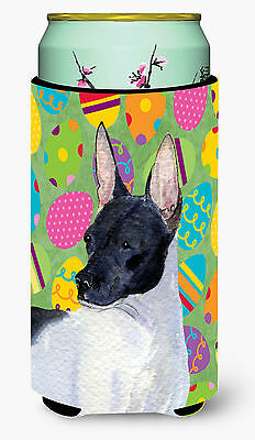 Rat Terrier Easter Eggtravaganza  Tall Boy Beverage Insulator Beverage Insulator