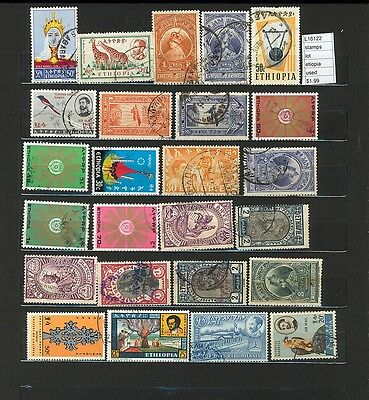 Stamps Lot Ethiopia  Used     (L16122)