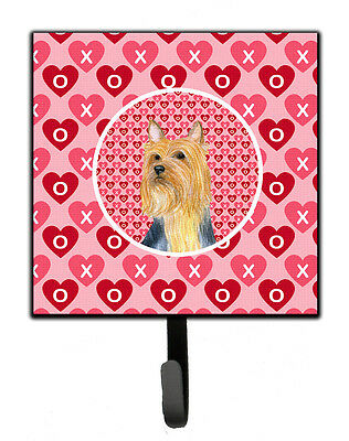 Silky Terrier Valentine's Love and Hearts Leash or Key Holder