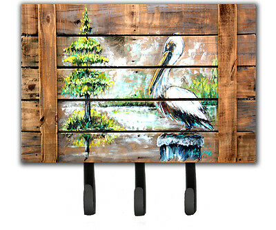 Summer by the Lake White Pelican Leash or Key Holder