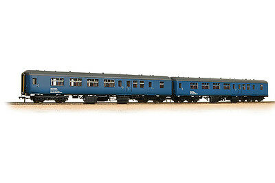 Bachmann 39-002 Personenwagenset Mk2a BFK HST barrier vehicles Spur 00
