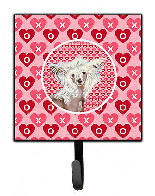 Chinese Crested Valentine's Love and Hearts Leash or Key Holder