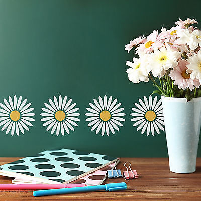 CraftStar Daisy Stencil - Reusable Craft Flower Stencil