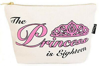 Make-up/Cosmetic/Toiletry Bag 'The Princess is Eighteen' RRP £11.99 now £1.99