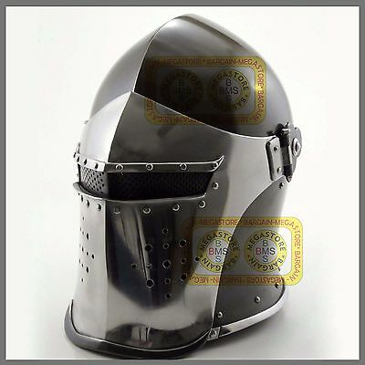 New Super Medieval Barbute Helme Armour Helmet Roman knight helmets. ykk