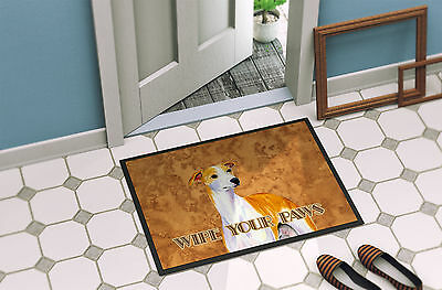 Whippet Wipe your Paws Indoor or Outdoor Mat 18x27