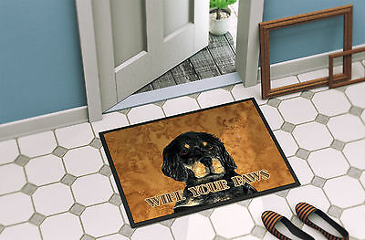 Gordon Setter Wipe your Paws Indoor or Outdoor Mat 18x27