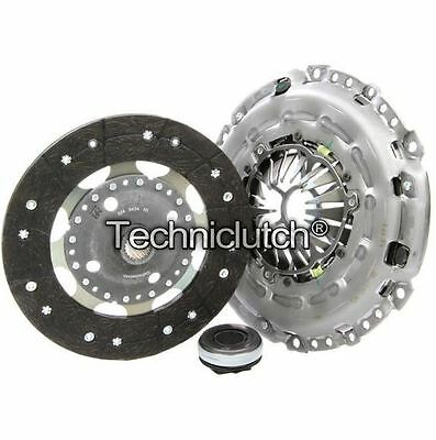 Nationwide 3 Part Clutch Kit For Peugeot 307 Cc Convertible 2.0 Hdi 135