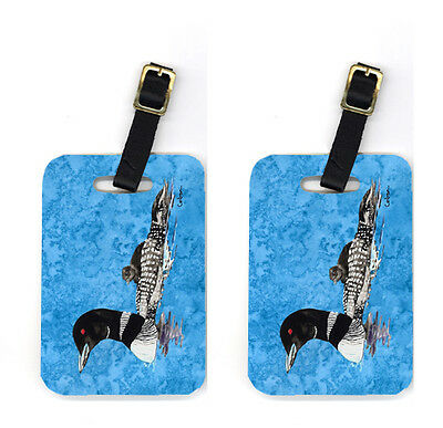 Carolines Treasures  8718BT Pair of Momma and Baby Loon Luggage Tags