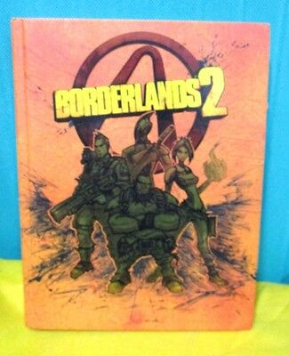 BORDERLANDS 2 Limited edition strategy guide - Brady Games 2012
